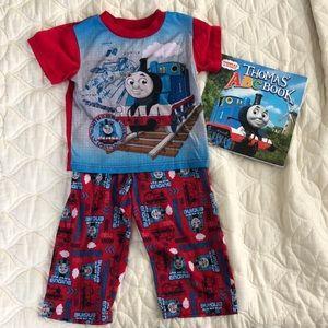 Thomas & Friends Train red pajamas 3T 🚂